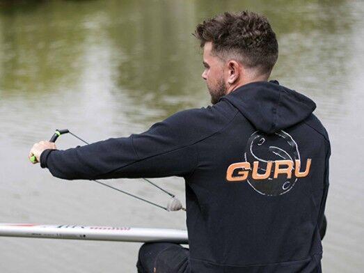 GURU DRY-KORE Lite Con Con Lite Cappuccio Nero/Abbigliamento/Pesca f29596