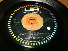 MARV JOHNSON - MOVE TWO MOUNTAINS - I NEED YOU - LISTEN - SOUL RNB POPCORN