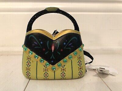 Disney Parks Anna from Frozen Purse Handbag Christmas Ornament NWT WDW