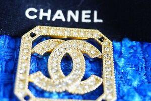 1-One-Chanel-button-1-pieces-gold-cc-logo-size-1-1-inch-emblem