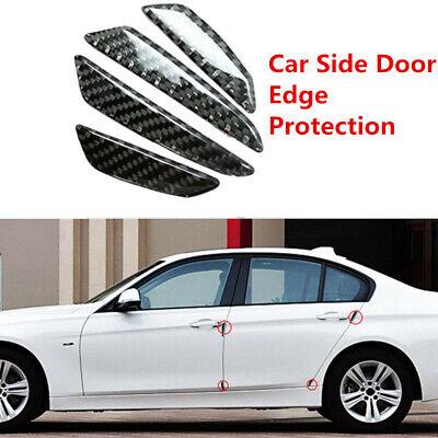 4x //////M Color Carbon Fiber Sportdoor Scratch Bumper Scuff Decor Stickers For BMW