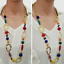 Fashion-Elegant-Women-Bib-Crystal-Pendant-Statement-Chain-Chunky-Choker-Necklace miniature 9