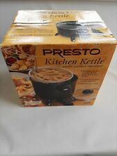 Presto Big Kettle Multi Cooker & Steamer Black for sale