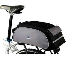Fahrrad Gepäcktasche Gepäckträger Tasche Fahrradtasche Satteltasche Rucksack NEU