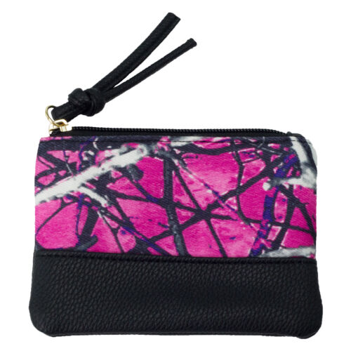 Camouflage Carry All Pink Purple Muddy Girl Camo Coin Purse