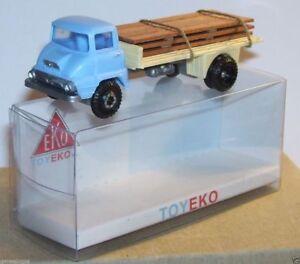 MICRO TOY EKO TOYEKO HO 1/86 1/87 SPAIN CAMION FORD THAMES TRANSPORT BOIS 2147