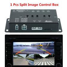 360 Full View Car Parking Cam Video Recorder DVR Split Image Screen Switch Box