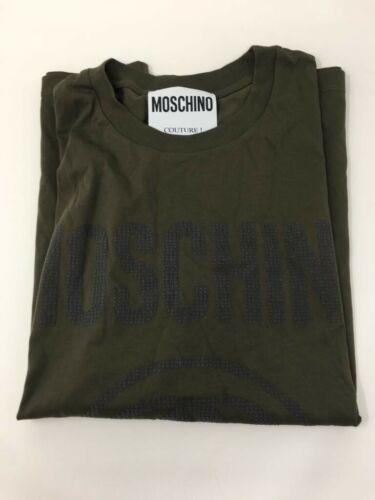 S Xs print Oversized Logo jersey Cotton T Moschino shirt 8q0H5n8