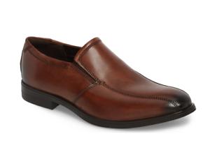 Amber Leather Venetian Loafer Sz 45 EUR
