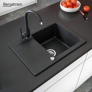 Granit Spüle Küchenspüle Einbauspüle Spülbecken Küche mit ...