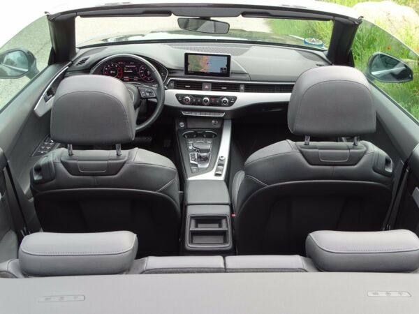 Audi A5 2,0 TFSi 190 Sport Cabriolet S-tr. - billede 4