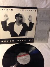 Stan Ivory LP Never Give UP  1988 LP EX