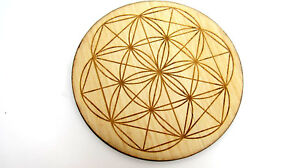BAMBOO-Flower-of-Life-Grid-Board-5-inch-Healing-Crystals-Protection-Blessing