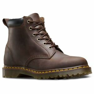 Dr.Martens 939 Ben 6 Eyelet Gaucho Womens Crazy Horse Ankle Lace-up ... c3f30184b