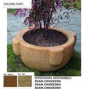 Vasi da giardino vasi per fiori mortai da diam cm42 a cm64 in pietra ricostruita ebay - Offerte vasi da giardino ...