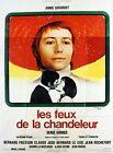 Affiche 60x80cm LES FEUX DE LA CHANDELEUR 1972 Annie Girardot, Jade BE