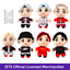 miniature 1 - BTS TinyTAN MIC DROP Plush Keychain Official Licensed Merchandise Kpop BTS Merch