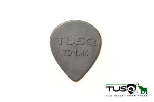 Graph-Tech-Tusq-Picks-Teardrop-Shape-1-40mm-Deep-Tone-Gray-6-pieces-PQP-0514-G6