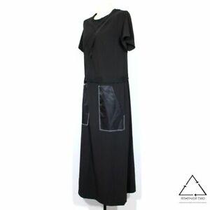 COP.COPINE Navette Robe Dress Black $343 | eBay