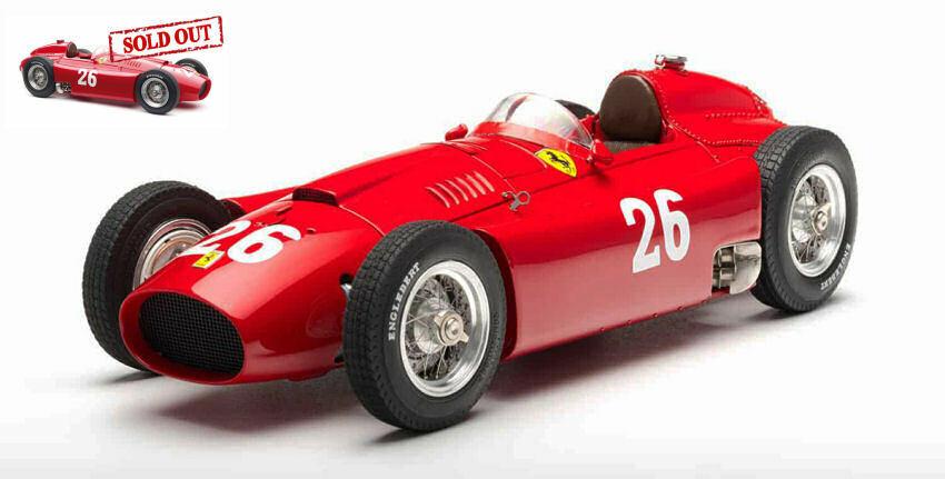 forma única Ferrari D50 J.M. Fangio   P. Collins 1956 1956 1956  26 2nd Monza  Gp 1 18 Model 183  preferente