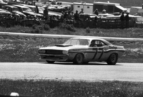 Sam Posey exits turn 8 at the 1970 Trans-Am at Laguna Seca