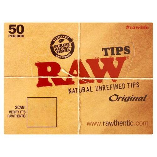 Raw Original Natural Unrefined Tips