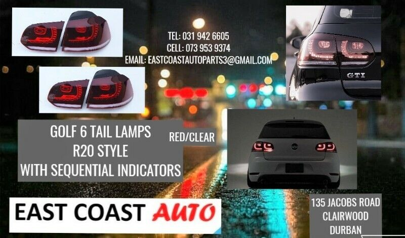 GOLF 6 TAIL LAMPS