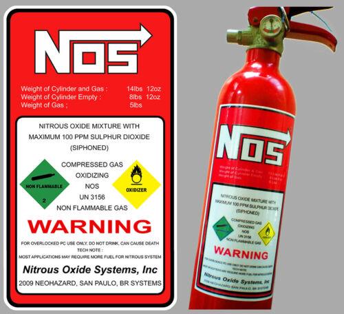 NITROUS OXIDE NOS OXYDE DRIFT TURBO JDM AUTOCOLLANT STICKER 15cmX8,5cm NA067