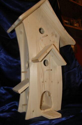 Vogelhaus Hexenhaus,Vogelvilla,Handarbeit vom Tischler