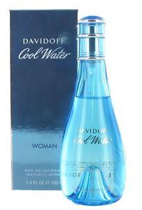 Davidoff-Cool-Water-Woman-100ml-Deodorant-Spray-for-Women-New