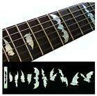 Fretboard Markers Inlay Stickers Decals for Guitars & Bass - Bat Wings