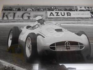 Old Vtg AZUR SUPER CAR RACE Racing Car PHOTOGRAPH Print Signed Geoff Goddard