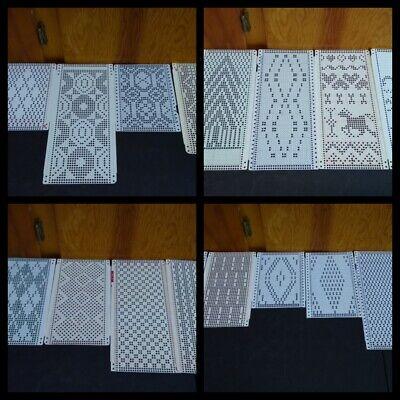 20 Random Holiday Punch Card Knitting Machine Patterns ...