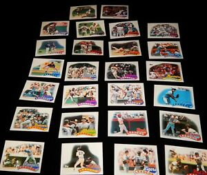 Vintage Baseball Cards,LOT OF 26 1989 TOPPS, 1988 Team Leaders, Yankees, A's