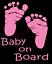 Baby-On-Board-Sticker-Vinyl-Decal-Window-Sticker-Car thumbnail 4