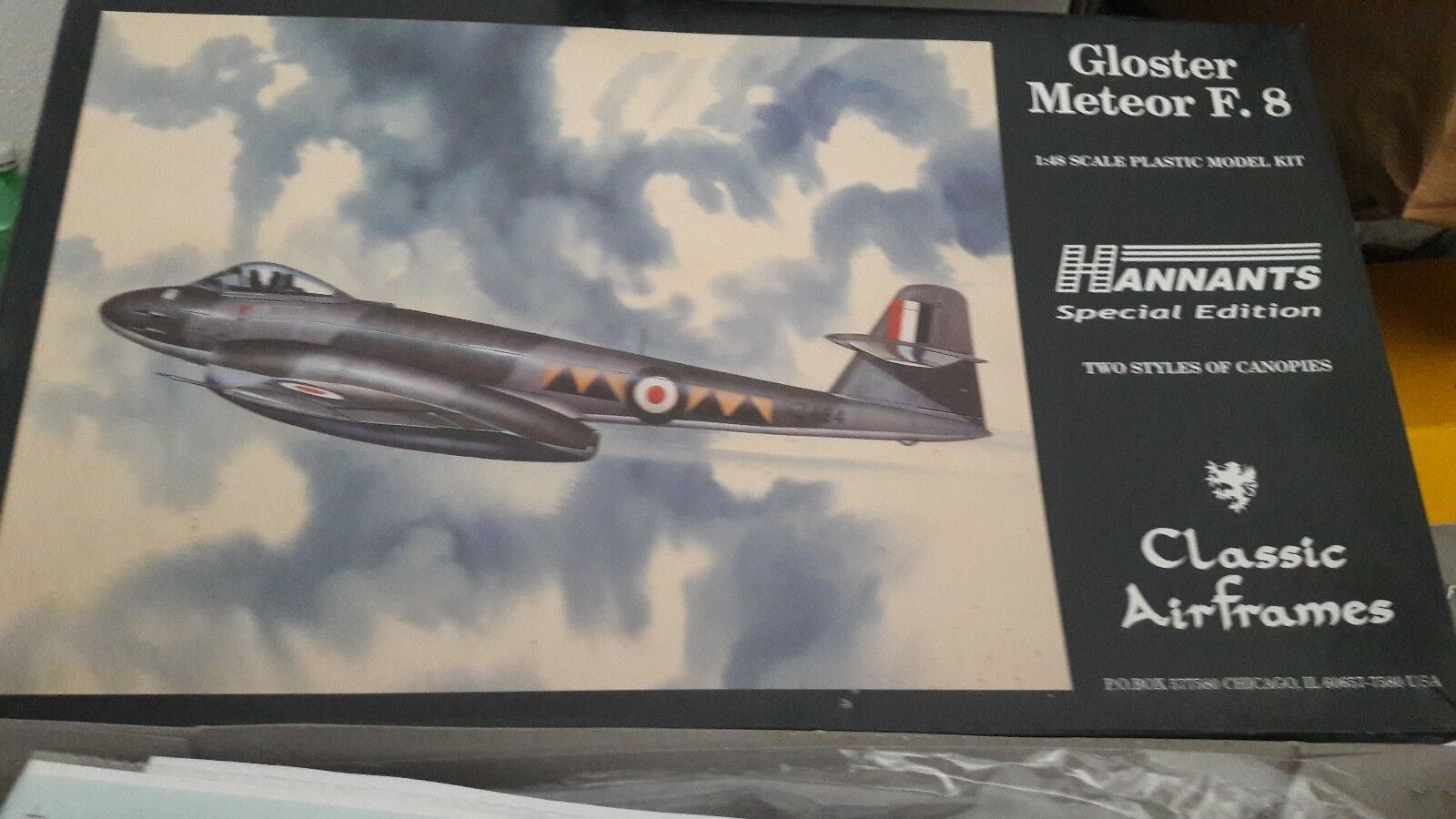 Gloster Meteor F.8  Classic Airframes 1 48