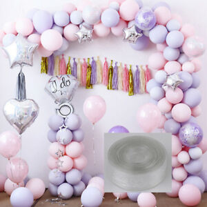 Das Bild Wird Geladen 5m Balloon Chain Tape Arch Connect Strip For