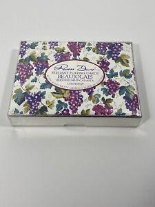 Renner-Davis-Elegant-Playing-Cards-Beaujolais-1990-A-Laurette-Vintage-Austria