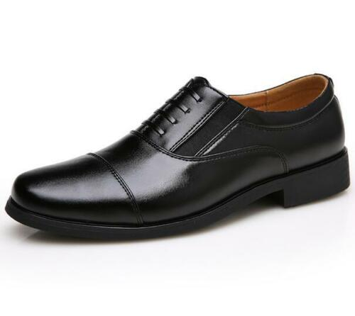New Mens Dress Formal Oxford Leather Shoes Loafer New Classic Black Office Shoes