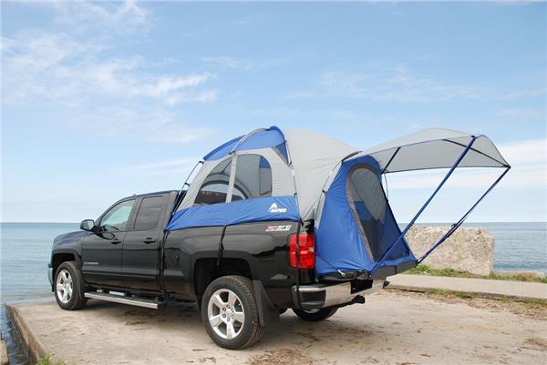 Napier al aire libre azul Sportz Camioneta Carpa 57 serie 57066 Mini Corto Cama