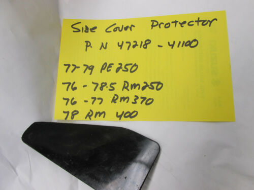 Suzuki PE250 RM250 RM370 RM400  side cover cushion    47218-41100