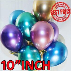 10-034-Metallic-Pearl-Chrome-Latex-Balloons-for-Wedding-Birthday-Party-10-50-PCS-UK