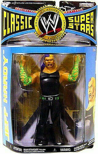 WWE Classic Superstars Series   25 __ Jeff Hardy 6 in (environ 15.24 cm) Figure _ LJN Style _ New & Comme neuf en Paquet