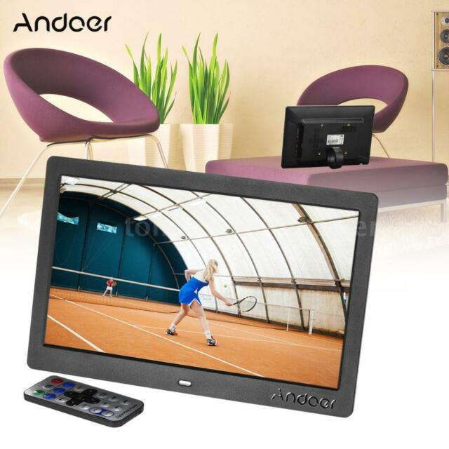 """Andoer 10"""" HD Wide Screen LCD Digital Photo Picture Frame High Resolution X3N5"""