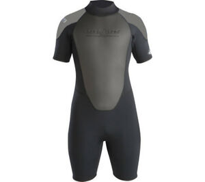 Aqua-Lung-3mm-Men-Quantum-Stretch-Short-dive-Wetsuit-scuba-diving-equipment-surf