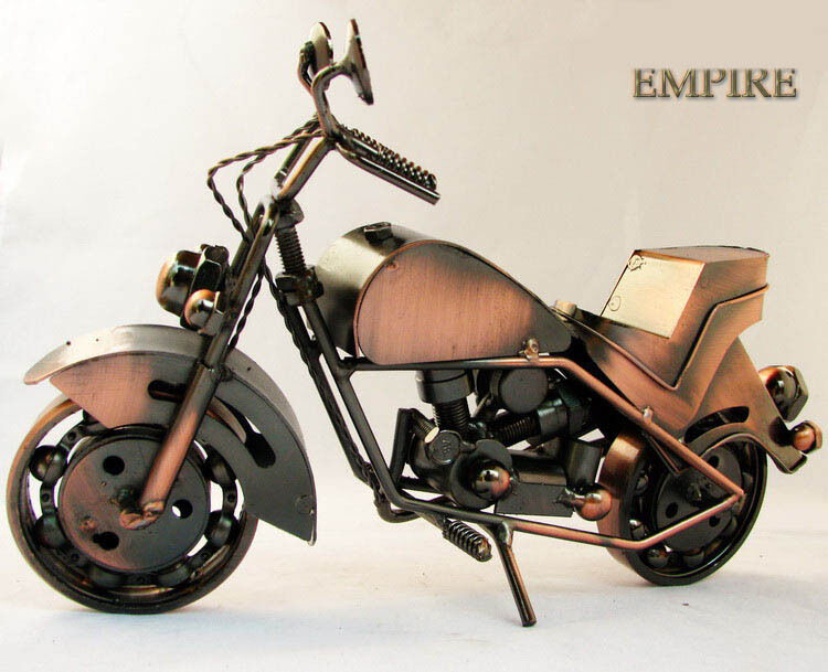 B9807 Handmade Iron Decoration Collectibles Simulation Motorcycle Model