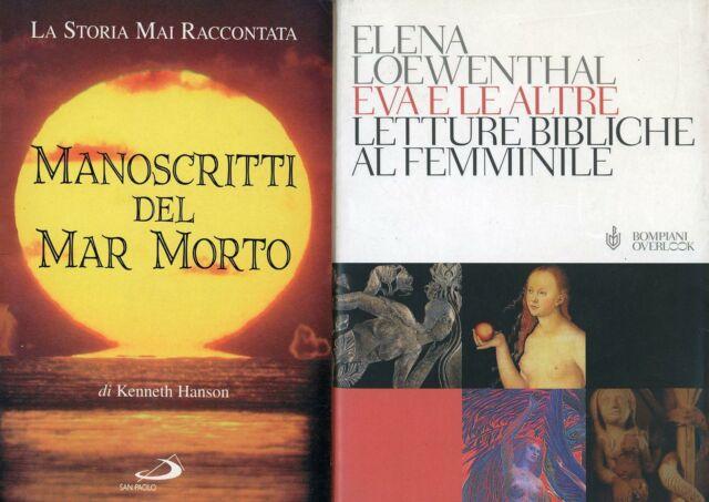 HANSON, Kenneth. Manoscritti del mar morto + altro libro