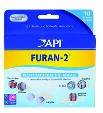 API Furan-2 Anti-bacterial Fish Medication 10 Powder Packets