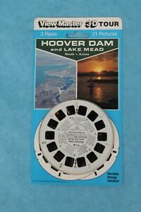VINTAGE VIEW-MASTER 3D REEL BLISTER PACKET HOOVER DAM NEVADA & ARIZONA SEALED