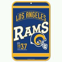 Los Angeles Rams Retro 11x17 Plastic Sign Durable Poster Free Shipping